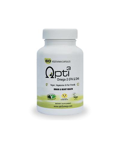 Omega 3 Algenolie Opti3Omega | 60 dagen | plantaardig