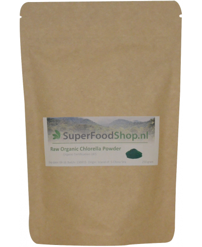 Chlorella Raw & Organic superfood online bestellen