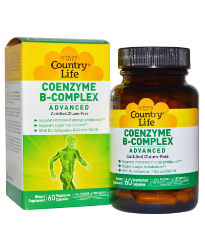 Vitamine B-Complex | Country Life Coenzyme B-Complex Advanced