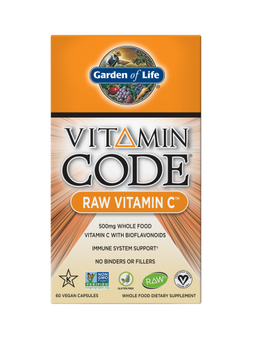 The Vitamin Code Raw Vitamin C (60 capsules) - The Garden of Life