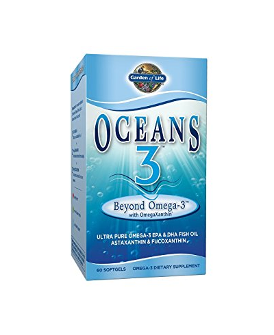 Oceans 3 - Beyond Omega-3 with OmegaXanthin (60 capsules)
