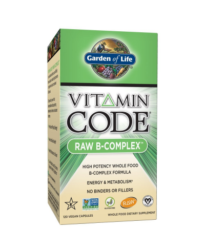 Vitamine B-complex 120 capsules | The Vitamin Code | Garden of Life