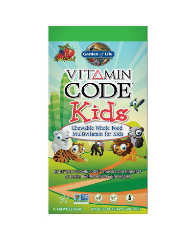 The Vitamin Code Kids (30 kauwtabletten) - The Garden of Life