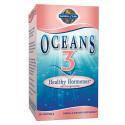 Oceans 3 - Healthy Hormones Omega-3 with OmegaXanthin (90 capsules) - Garden of Life