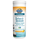 Dr. Formulated Relax & Restore Orange Dreamsicle (196g) Magnesium - Garden of Life