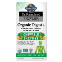 Dr. Formulated Enzymen Organic Digest+ (60 kauwtabletten) Garden of Life