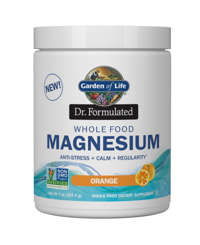 Dr. Formulated Whole Food Magnesium Orange (197,4g) - Garden of Life