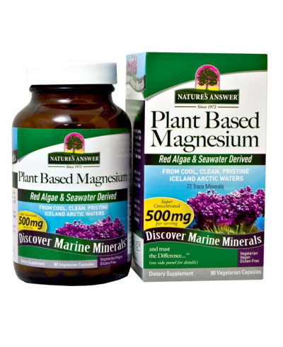 Plant Based Magnesium Nature's Answer (90 capsules)