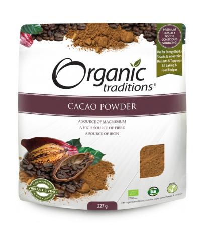 Biologische Cacao Poeder van Raw & Organic Online Bestellen